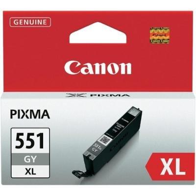 Inkoustová náplň Canon CLI-551XL šedá