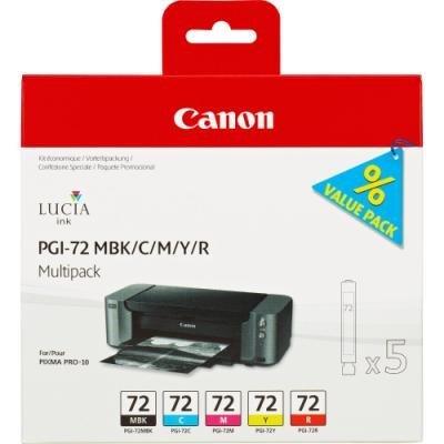 Inkoustová náplň Canon PGI-72 multipack