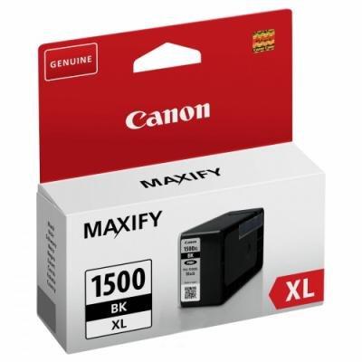 Inkoustová náplň Canon PGI-1500Bk XL černá