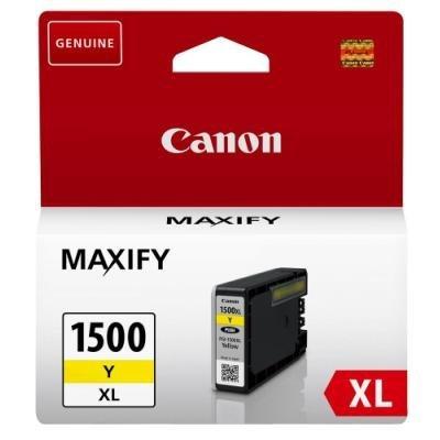 Inkoustová náplň Canon PGI-1500XL žlutá