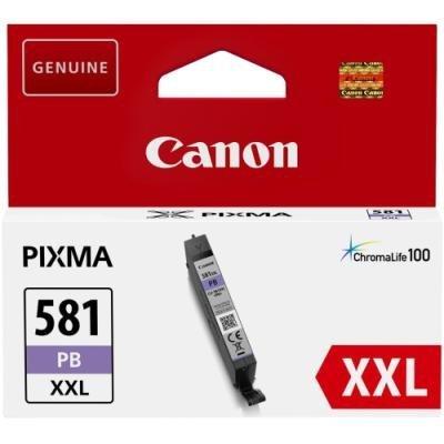 Inkoustová náplň Canon CLI-581PB XXL foto modrá