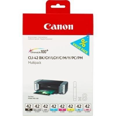 Inkoustová náplň Canon CLI-42 multipack 8 barev