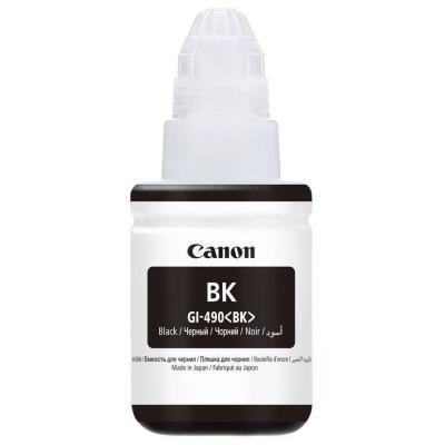 Inkoustová náplň Canon GI-490PGBK černá