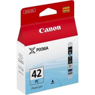 Inkoustová náplň Canon CLI-42PC foto azurová