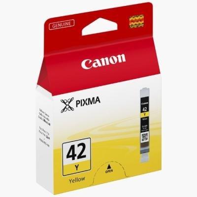 Inkoustová náplň Canon CLI-42Y žlutá