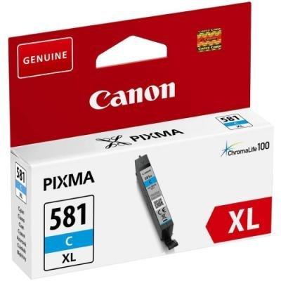 Inkoustová náplň Canon CLI-581C XL modrá