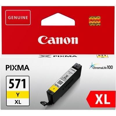 Inkoustová náplň Canon CLI-571Y XL žlutá