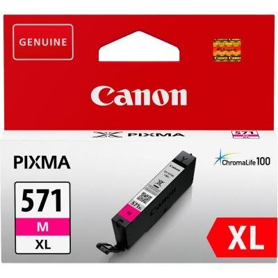 Inkoustová náplň Canon CLI-571M XL červená