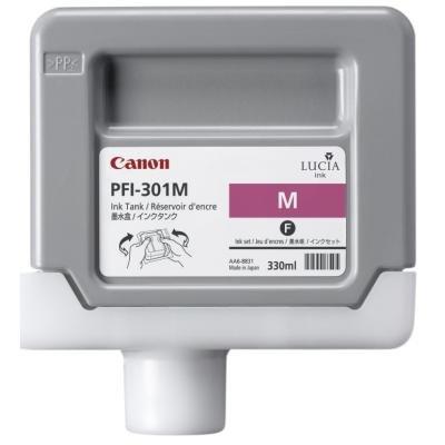 Inkoustová náplň Canon PFI-301M purpurová