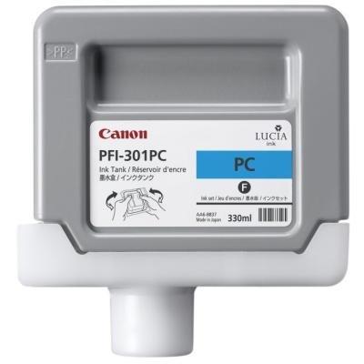 Inkoustová náplň Canon PFI-301PC foto modrá