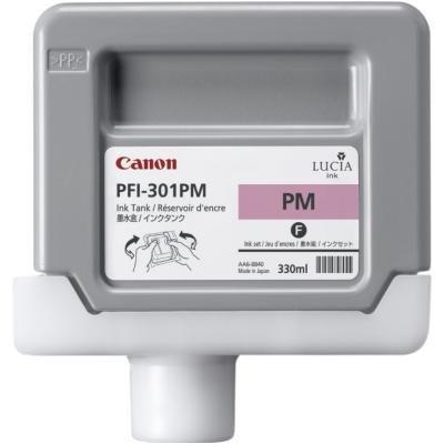 Inkoustová náplň Canon PFI-301PM foto purpurová