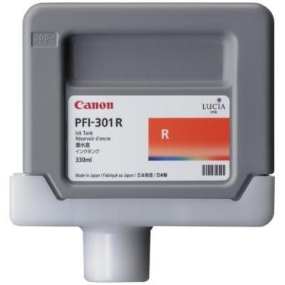 Inkoustová náplň Canon PFI-301R červená