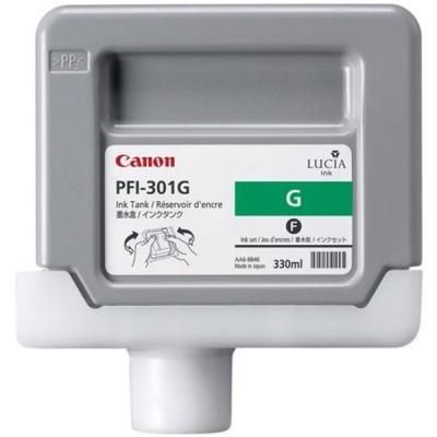 Inkoustová náplň Canon PFI-301G zelená