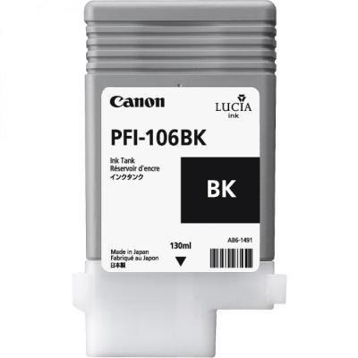 Inkoustová náplň Canon PFI-106BK černá
