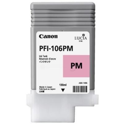 Inkoustová náplň Canon PFI-106PM foto purpurová