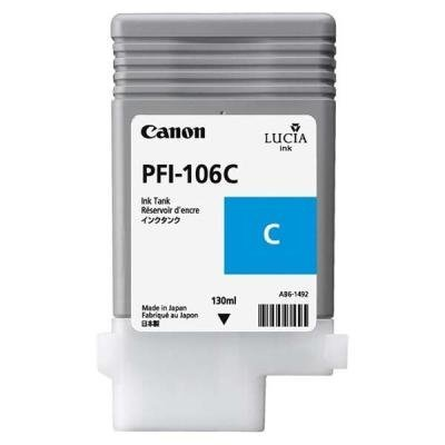 Inkoustová náplň Canon PFI-106C modrá