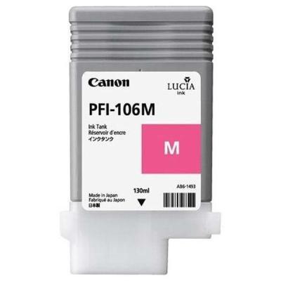 Inkoustová náplň Canon PFI-106M purpurová