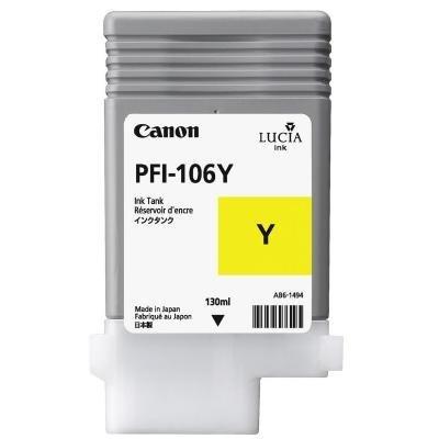 Inkoustová náplň Canon PFI-106Y žlutá