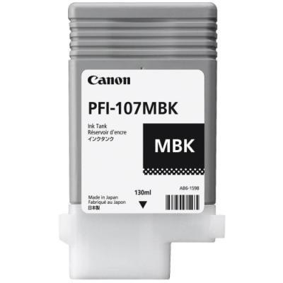 Inkoustová náplň Canon PFI-107MBK matná černá