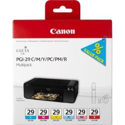 Inkoustová náplň Canon PGI-29 CMY PC PMR