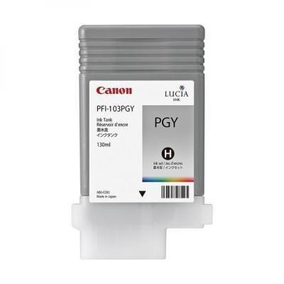 Inkoustová náplň Canon PFI-103PGY foto šedivá