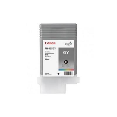 Inkoustová náplň Canon PFI-103GY šedá