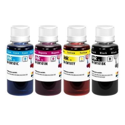 COLORWAY alternativní inkoustová náplň pro EPSON / C13T664x4A/ L100/ L110/ L200/ L210/ L355/ L550/ 4x 100ml/ CMYK