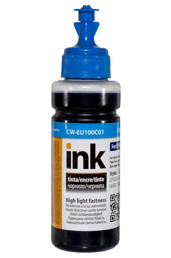 Inkoustová náplň ColorWay za Epson T6642 modrá
