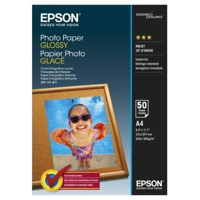 Fotopapír Epson Glossy A4 50ks
