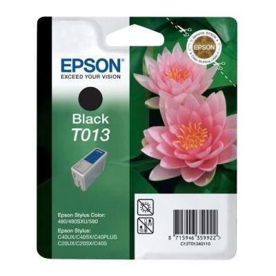 Inkoustová náplň Epson T0134 černá