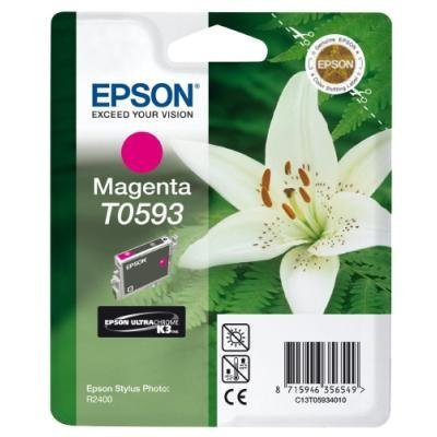 Inkoustová náplň Epson T0593 purpurová