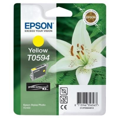 Inkoustová náplň Epson T0594 žlutá