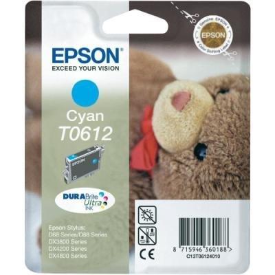 Inkoustová náplň Epson T0612 modrá