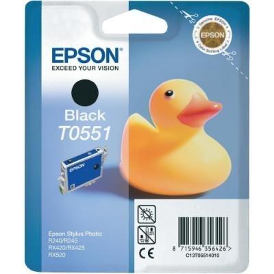 Inkoustová náplň Epson T0551 černá