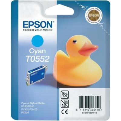 Inkoustová náplň Epson T0552 modrá