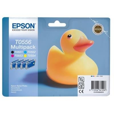 Inkoustová náplň Epson T0556 multipack CMYK
