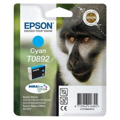 Inkoustová náplň Epson T0892 modrá