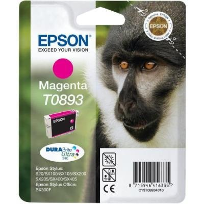 Inkoustová náplň Epson T0893 červená