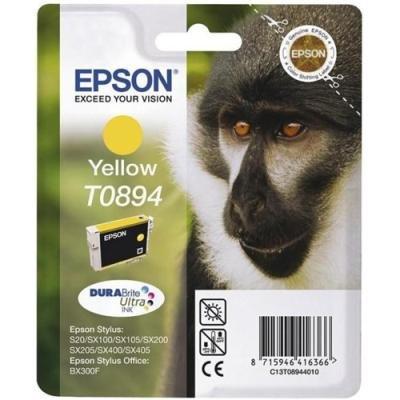 Inkoustová náplň Epson T0894 žlutá