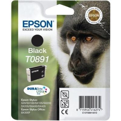 Inkoustová náplň Epson T0891 černá