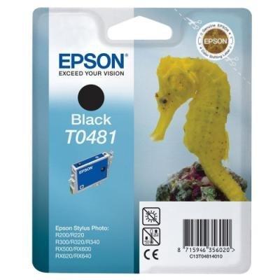 Inkoustová náplň Epson T0481 černá