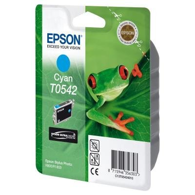 Inkoustová náplň Epson T0542 modrá