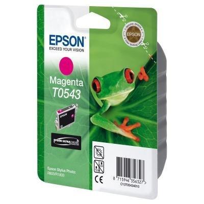 Inkoustová náplň Epson T0543 purpurová
