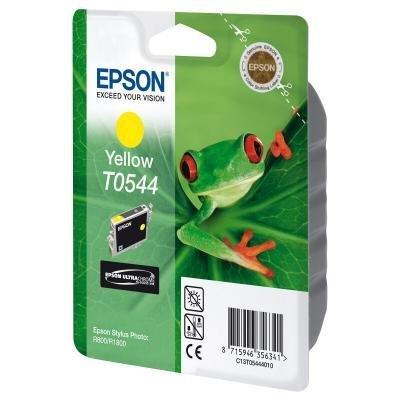 Inkoustová náplň Epson T0544 žlutá