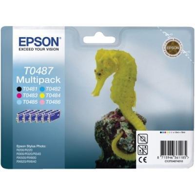 Inkoustová náplň Epson T0487 multipack