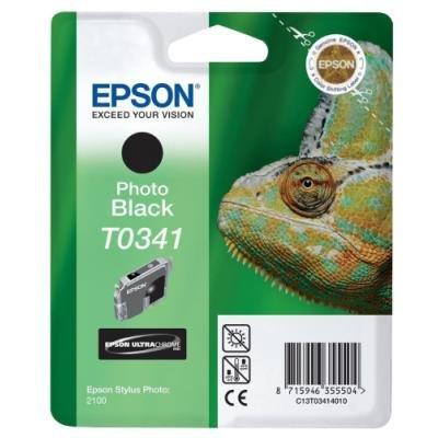Inkoustová náplň Epson T0341 černá