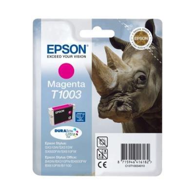 Inkoustová náplň Epson T1003 červená