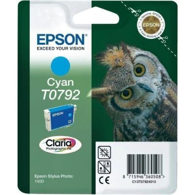 Inkoustová náplň Epson T0792 modrá