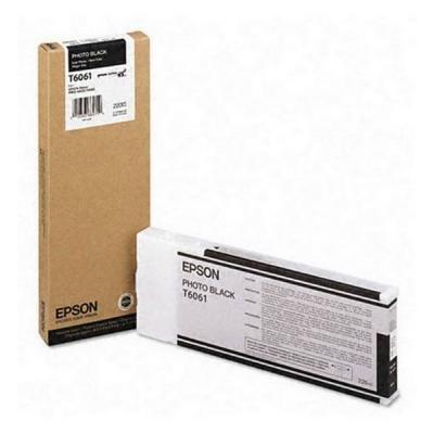 Inkoustová náplň Epson T6061 foto černá