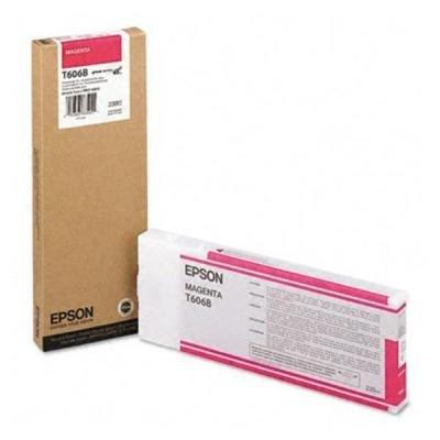 Inkoustová náplň Epson T6068 červená, T606B